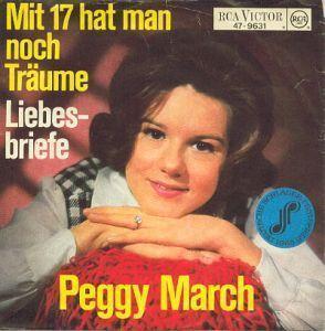 Coverafbeelding Peggy March - Mit 17 Hat Man Noch Träume