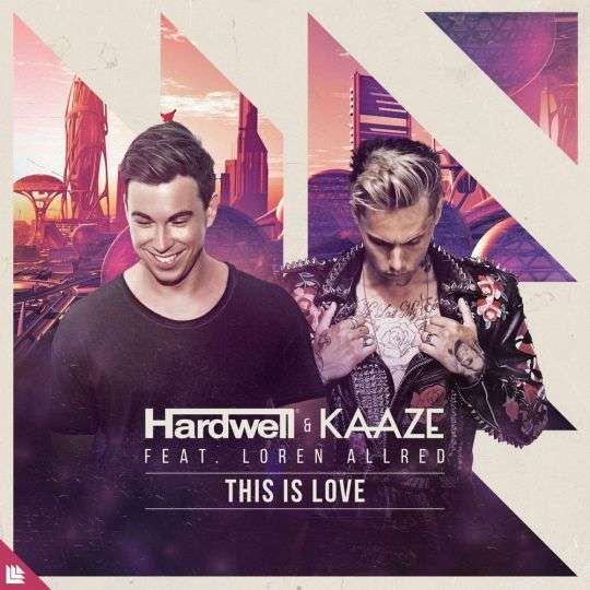 Coverafbeelding Hardwell & Kaaze feat. Loren Allred - This is love