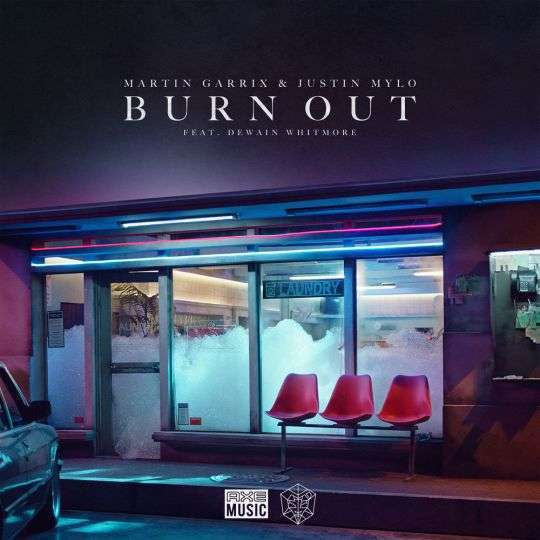 Coverafbeelding Burn Out - Martin Garrix & Justin Mylo Feat. Dewain Whitmore