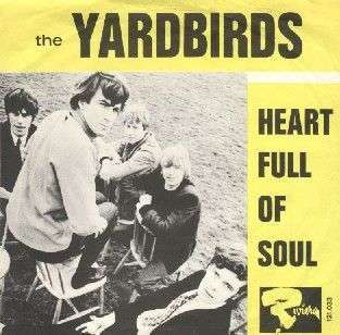 Coverafbeelding Heart Full Of Soul - The Yardbirds