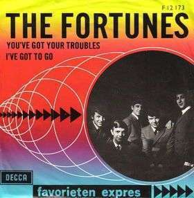 Coverafbeelding You've Got Your Troubles ((1965)) / You've Got Your Troubles/ This Golden Ring ((1974)) - The Fortunes