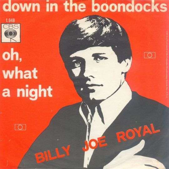 Coverafbeelding Down In The Boondocks - Billy Joe Royal