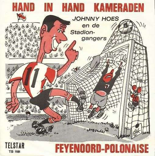 Coverafbeelding Feyenoord-Polonaise - Johnny Hoes En De Stadiongangers