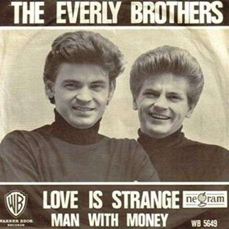 Coverafbeelding Love Is Strange - The Everly Brothers