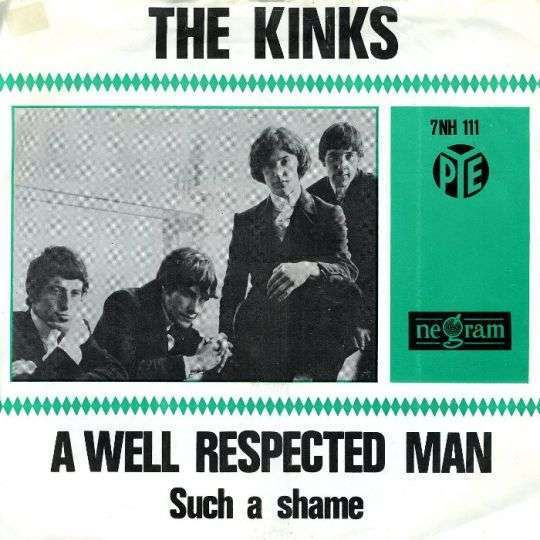 Coverafbeelding A Well Respected Man - The Kinks