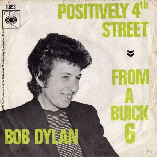Coverafbeelding Positively 4Th Street - Bob Dylan