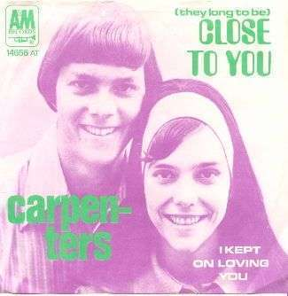 Coverafbeelding (They Long To Be) Close To You - Carpenters