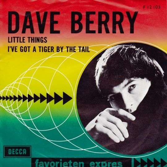 Coverafbeelding Dave Berry - Little Things