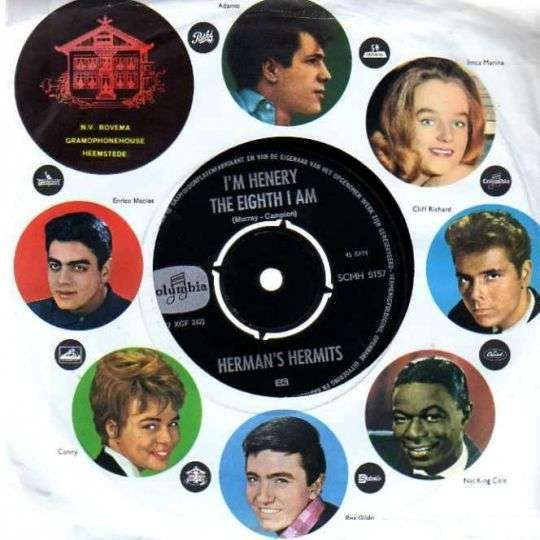 Coverafbeelding I'm Henery The Eighth I Am - Herman's Hermits
