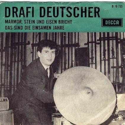 Coverafbeelding Marmor, Stein Und Eisen Bricht / Marmer, Staal En Steen Vergaan - Drafi Deutscher / Trea Dobbs
