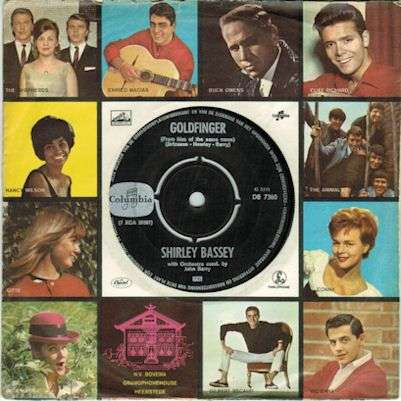 Coverafbeelding Goldfinger - Shirley Bassey / John Barry / Zz & De Maskers / The Jets
