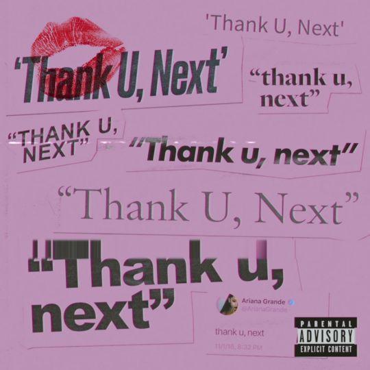 Coverafbeelding Thank U, Next - Ariana Grande