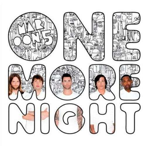 Coverafbeelding maroon 5 - one more night