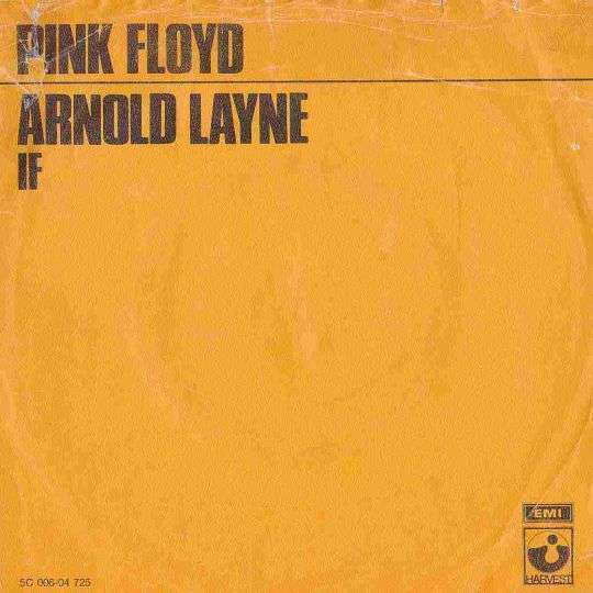Coverafbeelding Pink Floyd - If/ Arnold Layne
