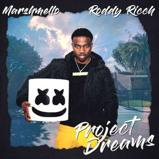 Coverafbeelding Project Dreams - Marshmello & Roddy Ricch