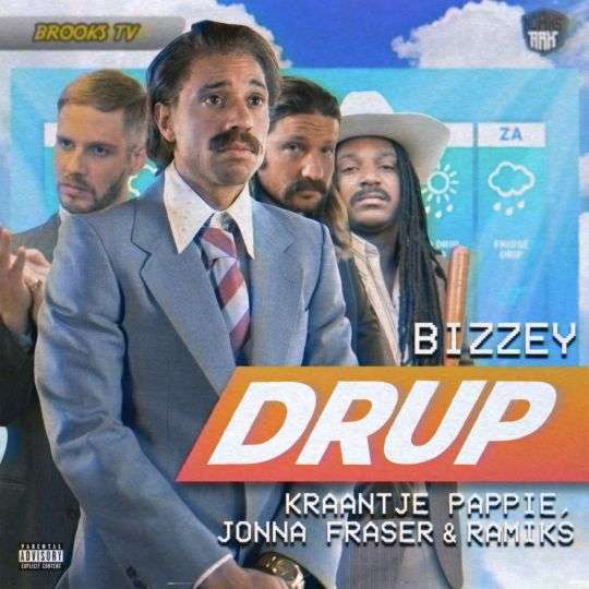 Coverafbeelding Bizzey & Kraantje Pappie, Jonna Fraser & Ramiks - Drup