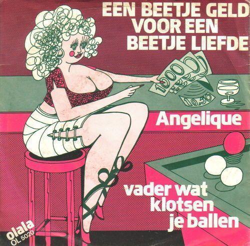 Coverafbeelding Een Beetje Geld Voor Een Beetje Liefde - Angelique