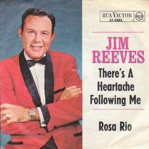 Coverafbeelding There's A Heartache Following Me - Jim Reeves