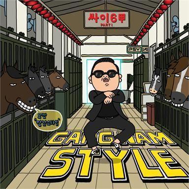 Coverafbeelding Gangnam Style - Psy