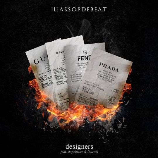 Coverafbeelding IliassOpDeBeat feat. Dopebwoy & LouiVos - Designers