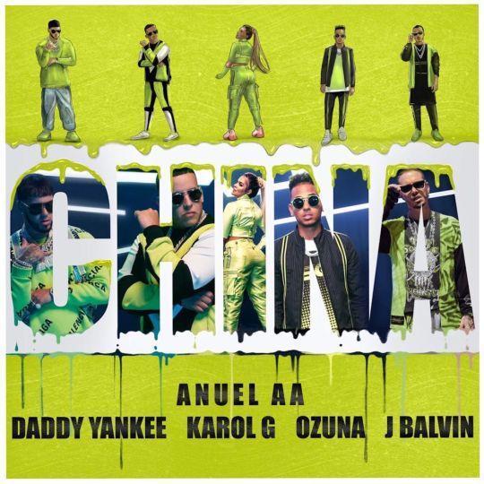 Coverafbeelding China - Anuel Aa & Daddy Yankee & Karol G & Ozuna & J Balvin