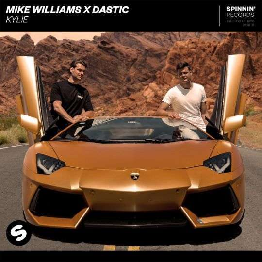 Coverafbeelding Mike Williams & Dastic - Kylie