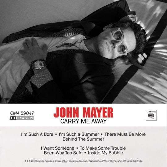 Coverafbeelding Carry Me Away - John Mayer