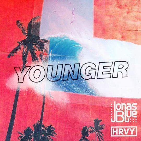 Coverafbeelding Younger - Jonas Blue & Hrvy
