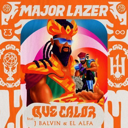 Coverafbeelding Major Lazer feat. J Balvin & El Alfa - Que calor