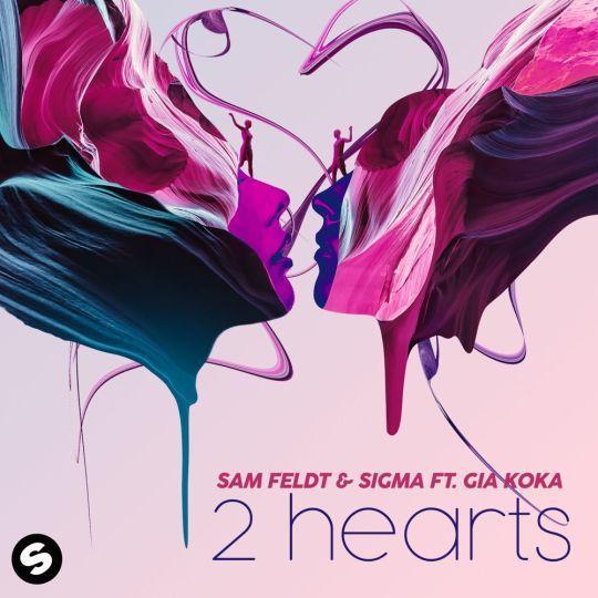 Coverafbeelding 2 Hearts - Sam Feldt & Sigma Ft. Gia Koka