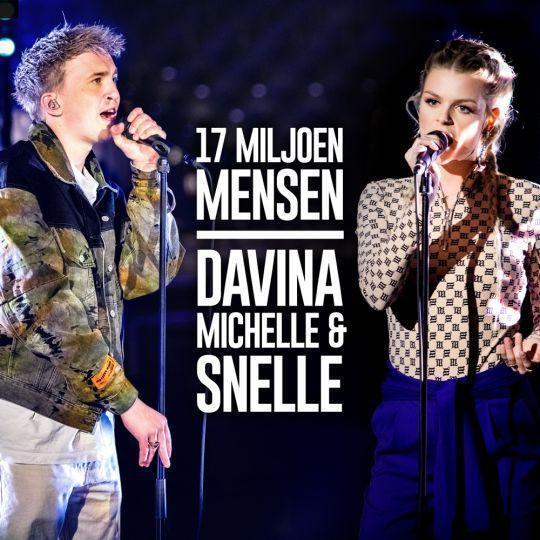 Coverafbeelding 17 Miljoen Mensen - Davina Michelle & Snelle