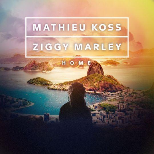 Coverafbeelding Home - Mathieu Koss & Ziggy Marley