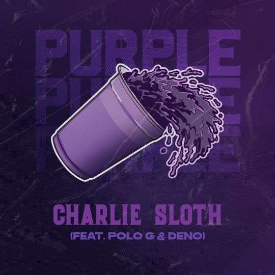 Coverafbeelding Charlie Sloth feat. Polo G & Deno - Purple