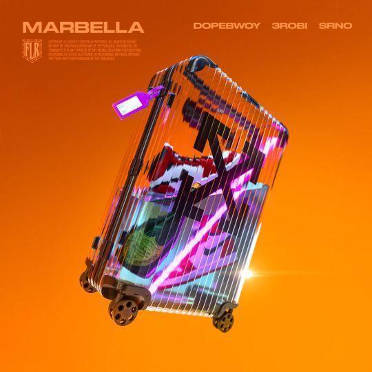 Coverafbeelding Dopebwoy & 3robi & SRNO - Marbella