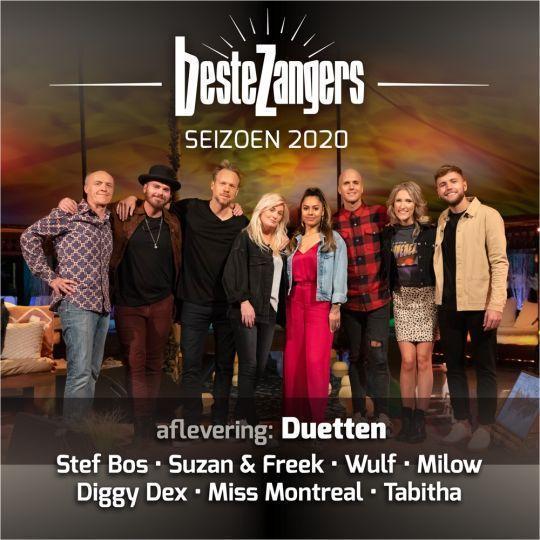 Coverafbeelding Stef Bos & Miss Montreal - Laat Me