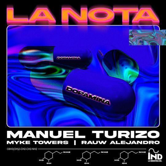 Coverafbeelding Manuel Turizo & Myke Towers & Rauw Alejandro - La Nota