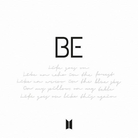 Coverafbeelding BTS - Life goes on