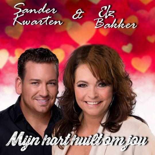 Coverafbeelding Sander Kwarten & Elz Bakker - Mijn Hart Huilt Om Jou