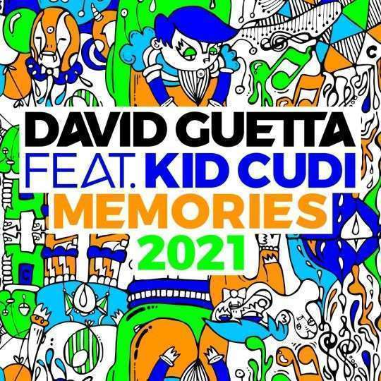 Coverafbeelding Memories 2021 - David Guetta Feat. Kid Cudi