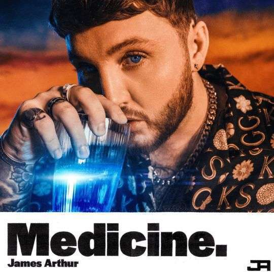 Coverafbeelding Medicine - James Arthur