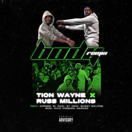 Coverafbeelding Tion Wayne x Russ Millions feat. ArrDee, E1 (3x3), ZT (3x3), Bugzy Malone, Buni, Fiv