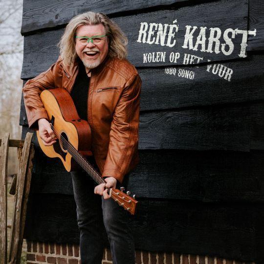 Coverafbeelding René Karst - Kolen Op Het Vuur (BBQ Song)