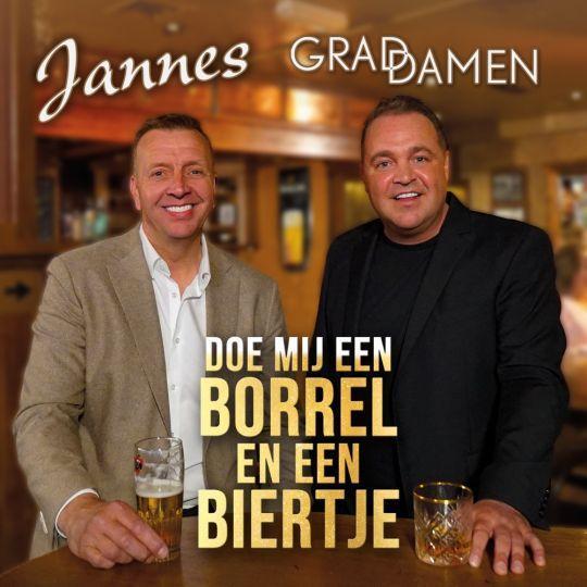 Coverafbeelding Jannes & Grad Damen - Doe mij een borrel en een biertje