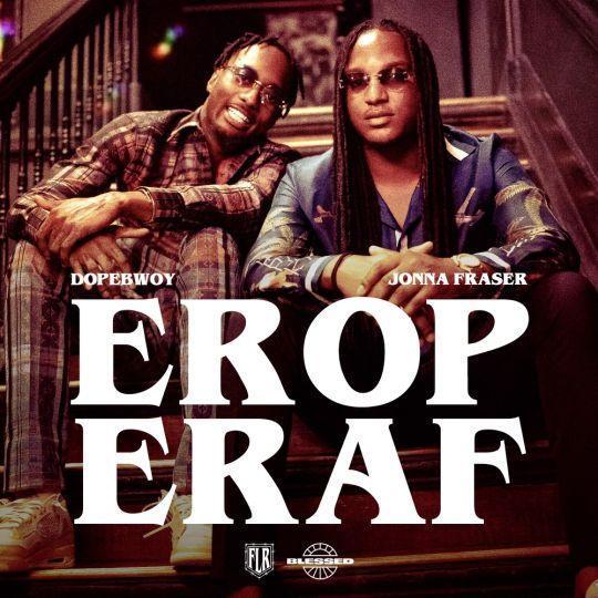 Coverafbeelding Erop Eraf - Dopebwoy & Jonna Fraser