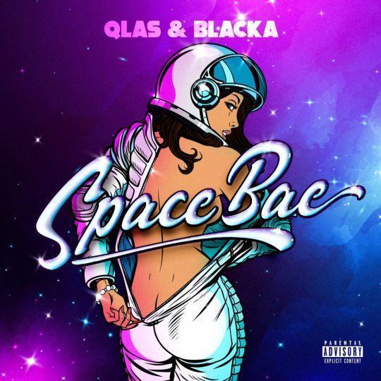 Coverafbeelding Spacebae - Qlas & Blacka
