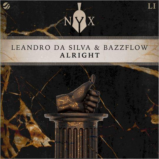 Coverafbeelding Leandro Da Silva & Bazzflow - Alright