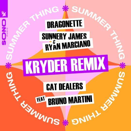 Coverafbeelding Dragonette, Sunnery James & Ryan Marciano & Cat Dealers feat Bruno Martini - Summer