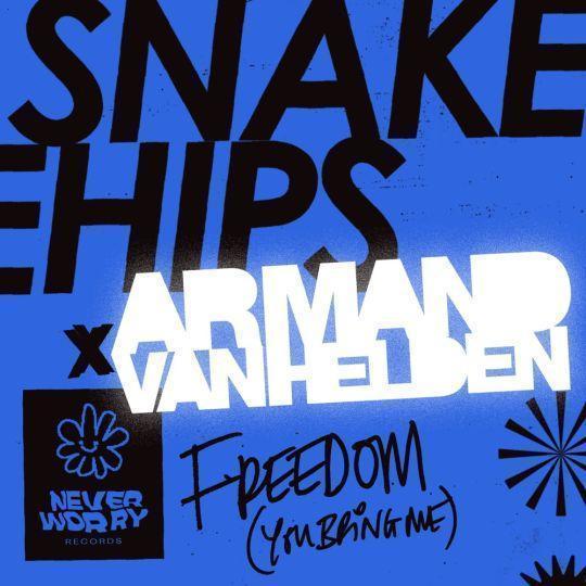 Coverafbeelding Snakehips  x Armand van Helden - Freedom (You Bring Me)