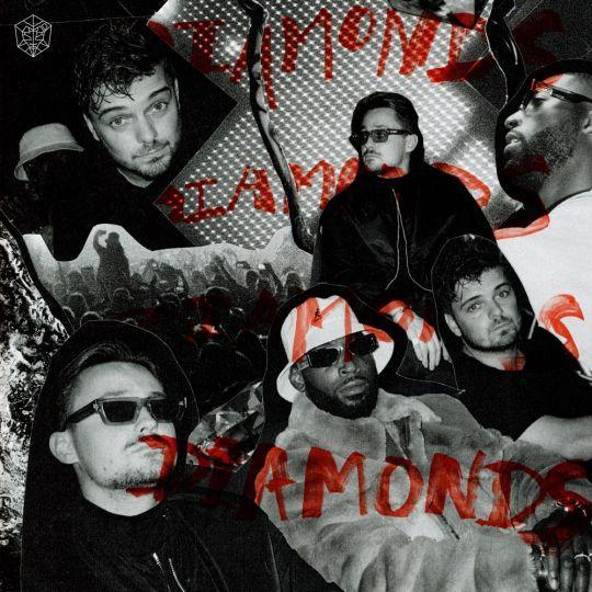 Coverafbeelding Diamonds - Martin Garrix, Julian Jordan & Tinie Tempah