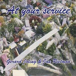 Coverafbeelding At Your Service - Gerard Joling & Jan Rietman